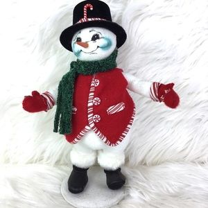 Annalee Collectible Holiday Snowman 2007